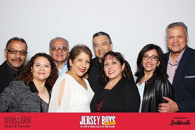 memorial hermann heart & vascular presents smilebooth at jersey boys | day 2