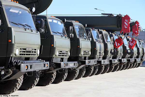 Military-technical forum ARMY-2016 - Static displays part 2: Engineering and logistics vehicles