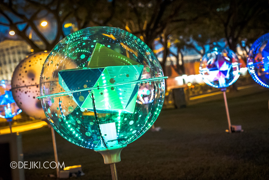 Singapore Night Festival 2018 - Night Lights / Orbit by LiteWerkz