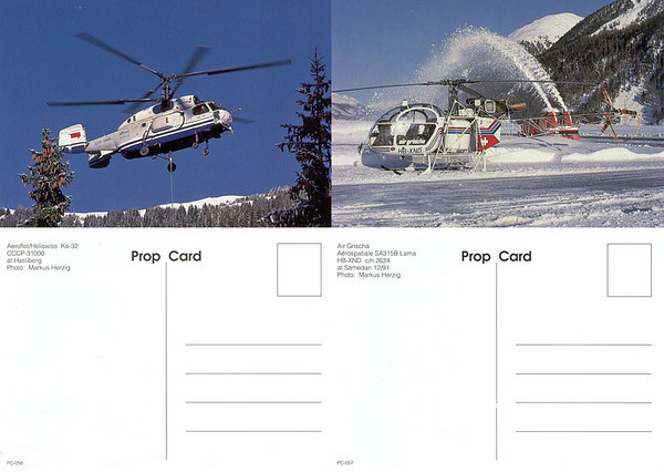 Prop Card - Postcards