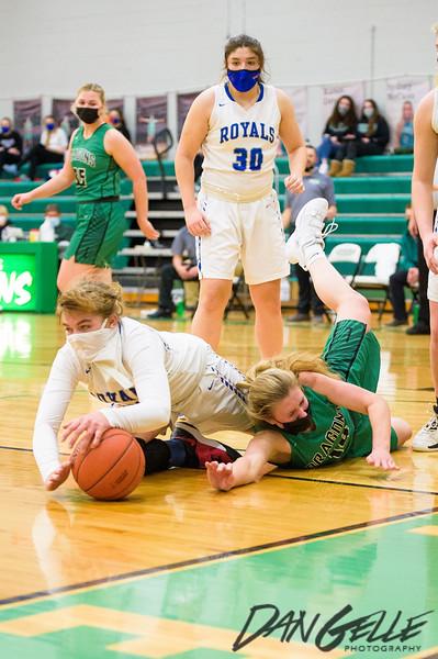 Dragons Girls Basketball vs W-M Royals