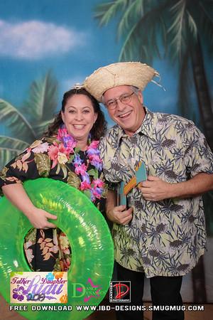 2019 Father-Daughter Luau