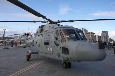 HMS Illustrious visits Liverpool