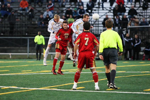 Trinity Western Spartans vs Laval Rouge et Or Semifinal