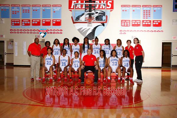 2017-2018 Girls Basketball Varsity