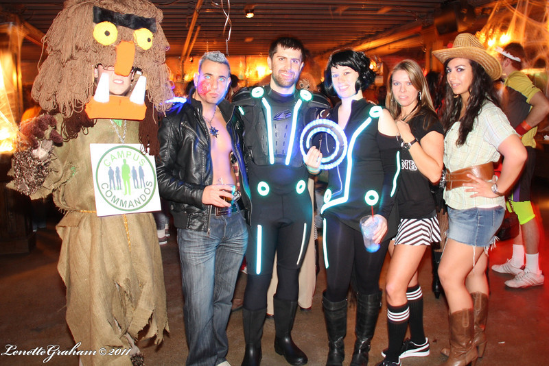 2011 - AdCraft Halloween Party sponsored by Blip TV and IGN at Commune