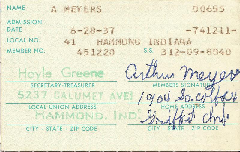 Arthur Meyers - Union Dues Card.jpg