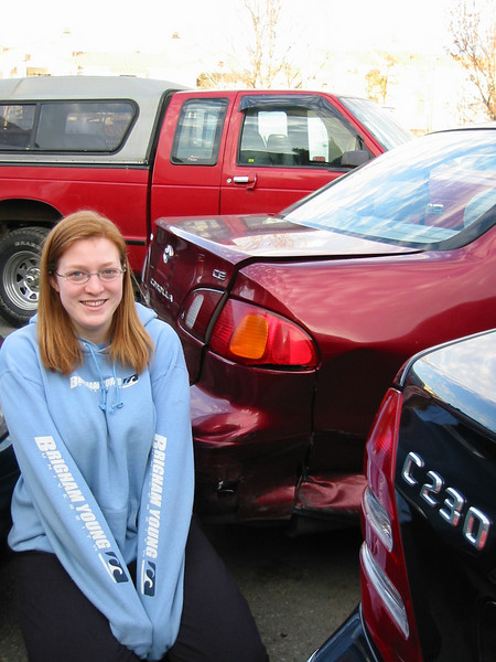 2004, Allie's Totalled Car