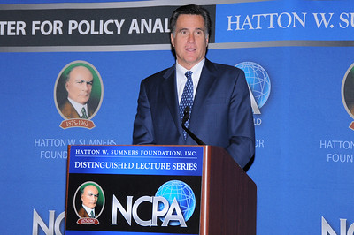 Hatton W. Sumners Distinguished Lecture Series with Gov. Mitt Romney, March 18, 2010