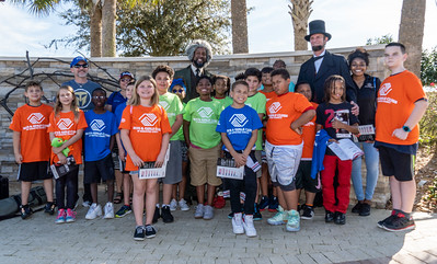 Boys and Girls Club visit Patriot Plaza