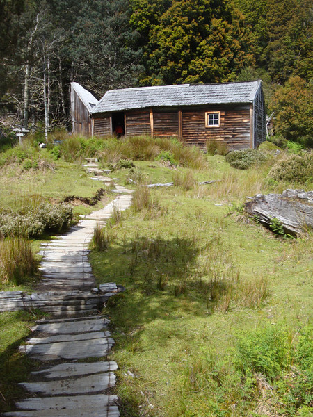 Du Cane Hut is another historic relic.
