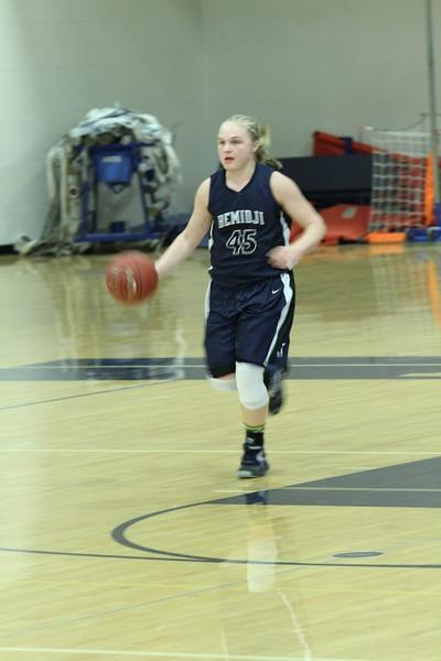 BHS Varsity Girls Basketball Feb 26, 2016