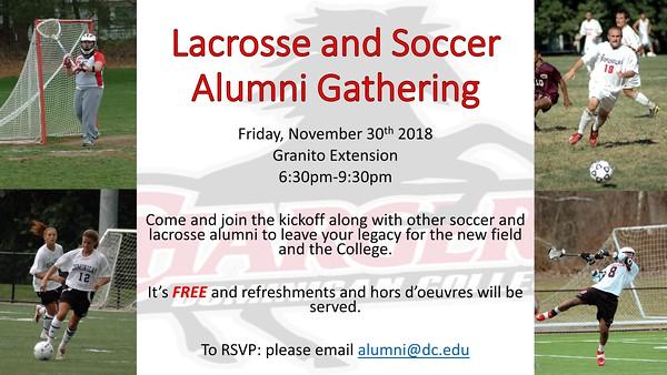 Soccer and Lacrosse Alumni Gathering