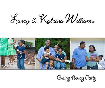 Larry & Katrina Going Away Party