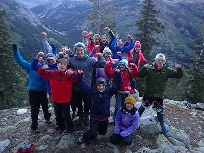 Team Huron: Middle School Outdoor Ed Fall 2018