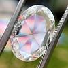 2.32ct Flat Oval Shape Diamond GIA J SI1 16