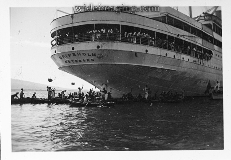The Gripsholm in Havana Feb. 4th 1939.