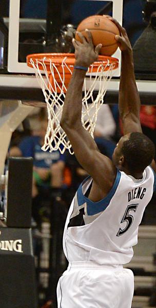 Timberwolves close season with Utah Jazz