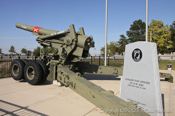"""VFW Post 2593 - Arnold, MO - M115 8"""" Howitzer"""