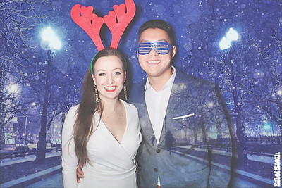 12-14-19 Atlanta The Fairmont Photo Booth - SalesLoft's Holiday Party 2019 - Robot Booth