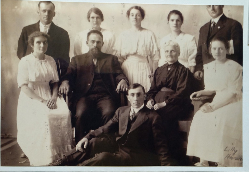 Herman and Ida Feld Family