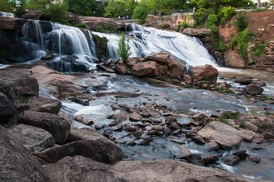 Greenville Reedy River Falls