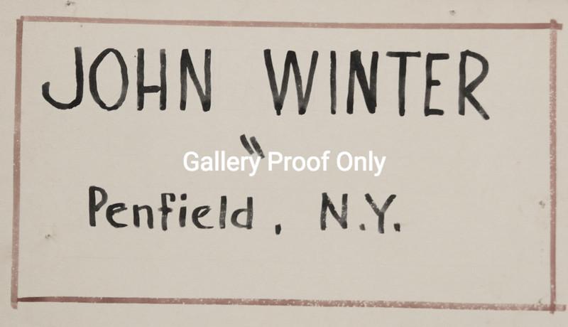 John Winter, Artist