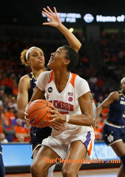 2019 Womens Basketball: Clemson v Notre Dame Jan. 31