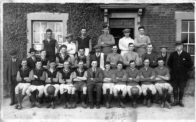Hodson Rovers 2 teams 1923