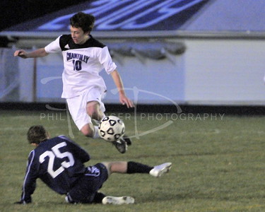 Chantilly Chargers Boys Varsity Soccer - South County, March 24, 2009