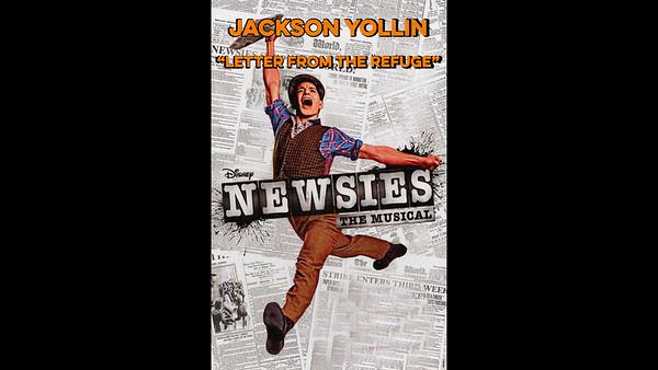 Jackson as Crutchie (Newsies) Home Movie