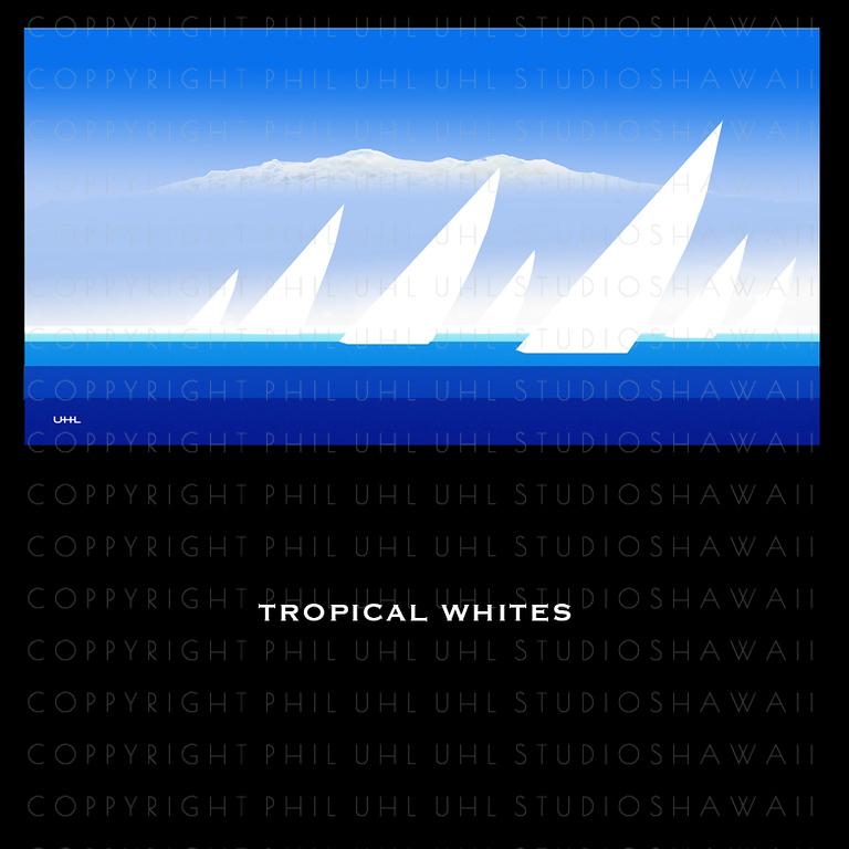 """"""" Tropical Whites """""""