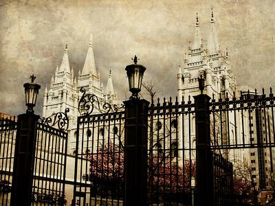 Salt Lake LDS Temple Prints