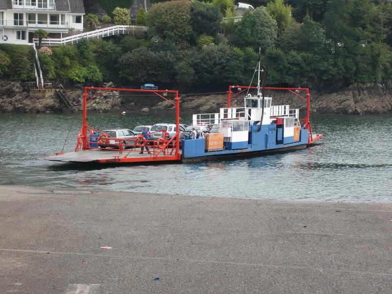 Bodinnick to Fowey car ferry