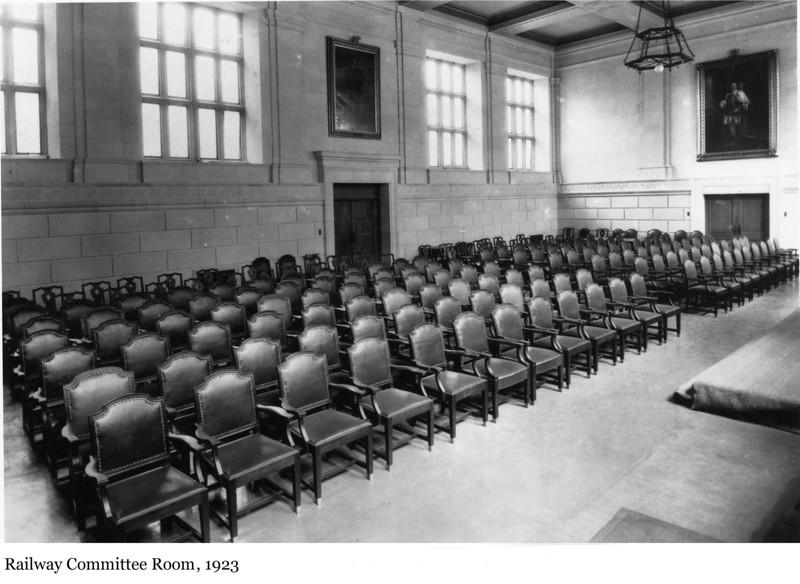 Railway Committee Room - la Salle des chemins de fer, 1923