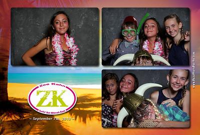 Zoe Kahn Bat Mitzvah