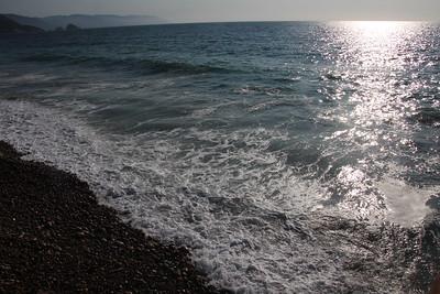 Sea, Shore, & Sunset