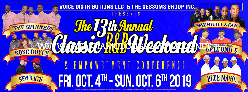 The 13th Annual Classic R&B Weekend - 10-5-2019