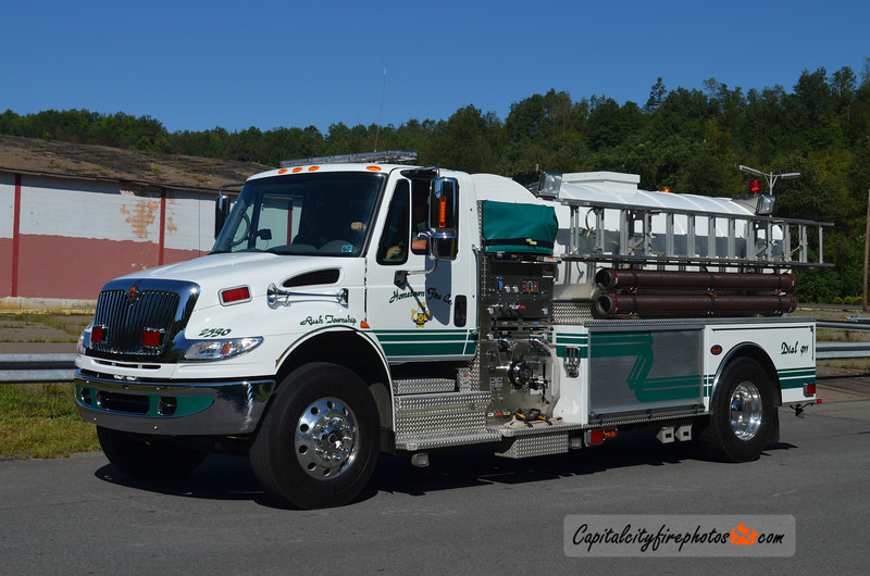 Hometown (Rush Township) Tanker 25-30: 2007 International/KME 1000/2300