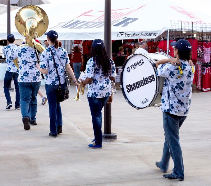 The Rice Band arrives (Shamelessly?)