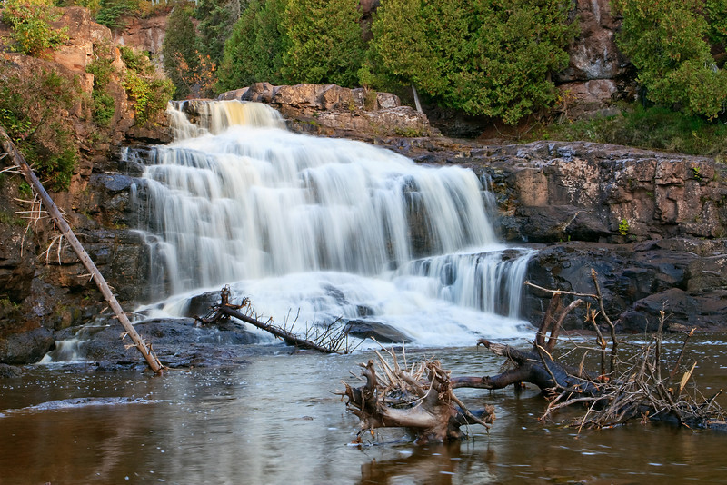 The Lower Cascades - Gooseberry Falls
