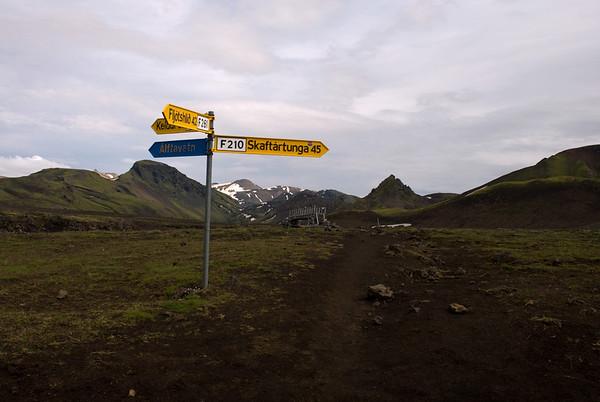 Strútsstígur - Skælingar - Sveinstindur