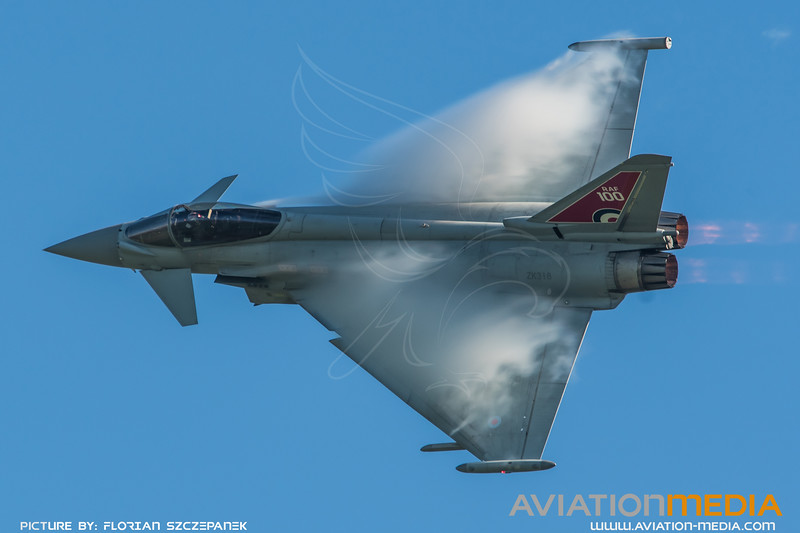 Royal Air Force 29 Squadron / Eurofighter Typhoon FGR.4 / ZK318 / RAF 100 Livery