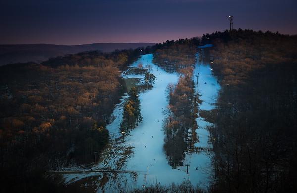 Twilight on the Slopes