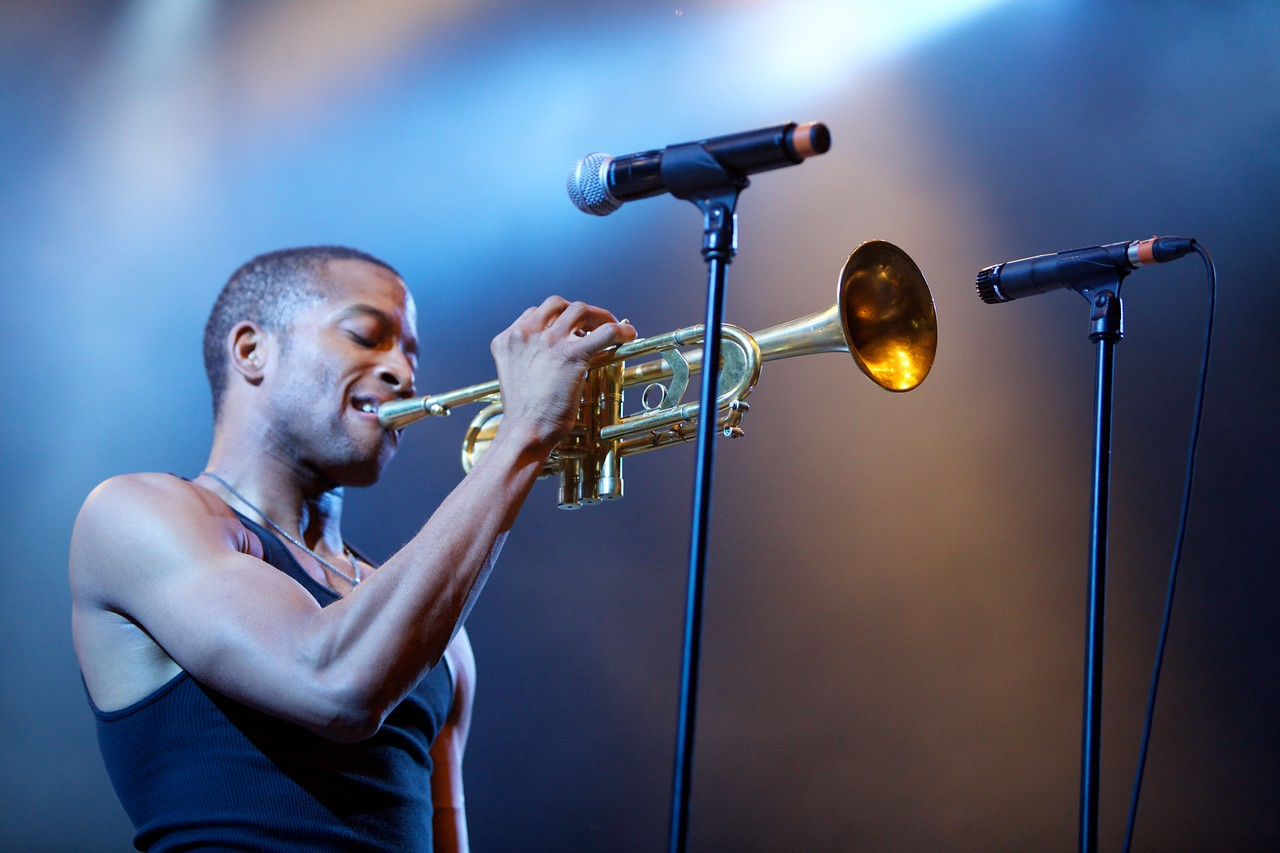 Trombone Shorty at the Nice Jazz Festival 2012 26