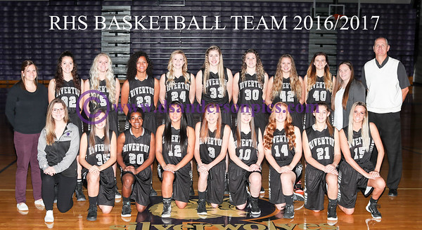 2016/2017 RHS GIRLS BASKETBALL TEAM PICS