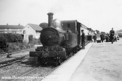 IOM Steam Railway in the B/W photo era