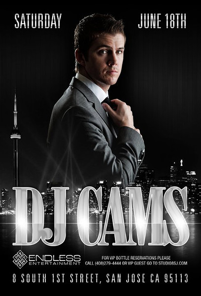 06/18 [DJ CAMS@STUDIO 8]