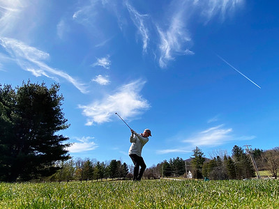 Golfing at Mount Anthony Country Club - 040721