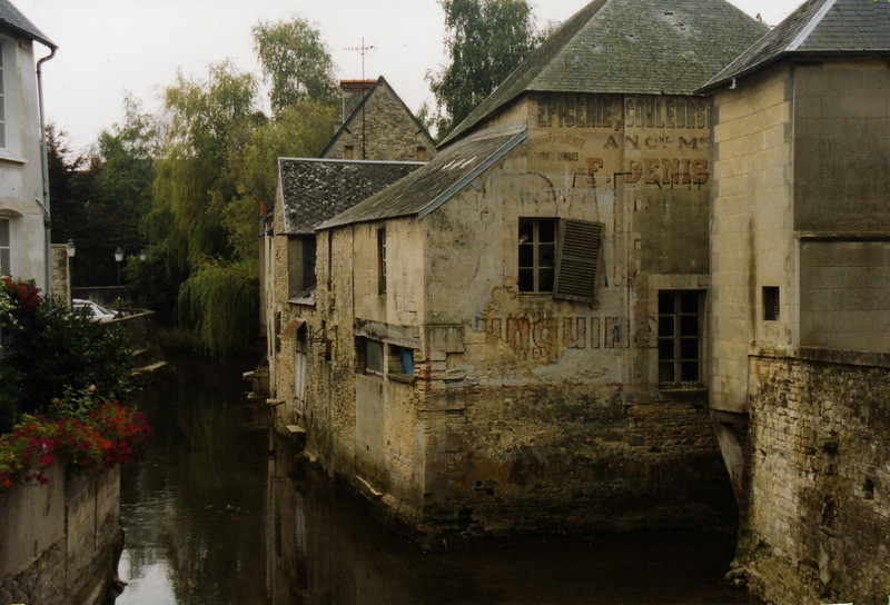 The town of Bayeaux